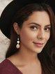 Golden Vintage Alloy Earrings