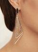 Silver Vintage Alloy Earrings