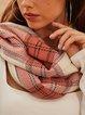Orange Plain Elegant Scarves & Shawls