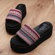 Women Casual Platform Slippers