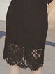 Stylish Lace Cutout Casual Long Sleeve Dress