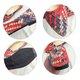 Casual Low Heel PU Color Block Weave Flats