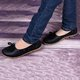 Genuine Leather Flat Heel Bowknot Loafers