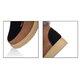 Platform Panel Suede Color Block Lace Up Boots