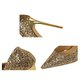 Elegant Sequin High Heel PU Party Pumps